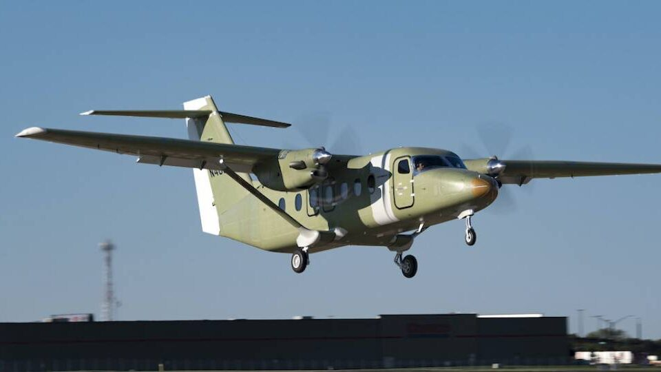 Third Cessna SkyCourier Joins Test Fleet