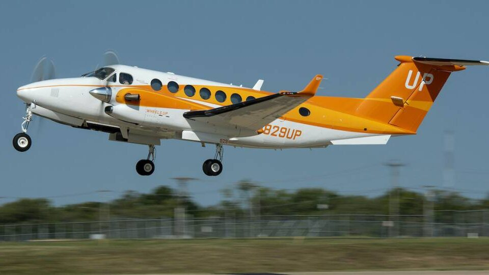 Wheels Up Unveils Orange King Air To Fight Hunger