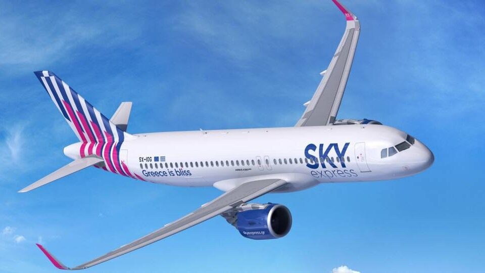 Airbus Inks Order for A320neos from Greece's Sky Express