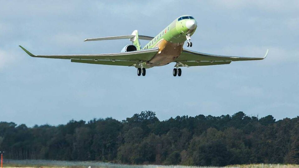 Fifth G700 Accelerates Gulfstream Test Program