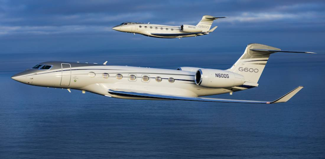 Gulfstream Increases Ranges of G500, G600