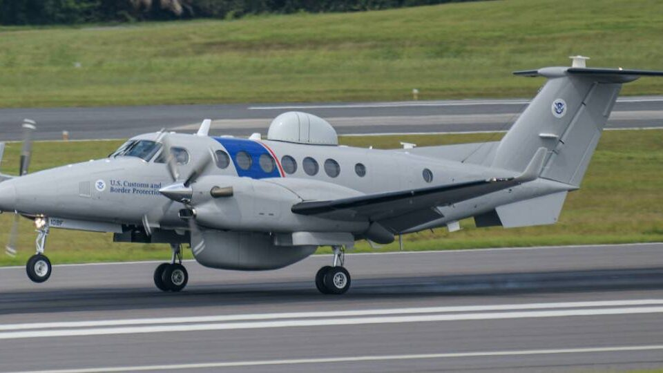 Third and Fourth King Air 350CER Delivered to Customs
