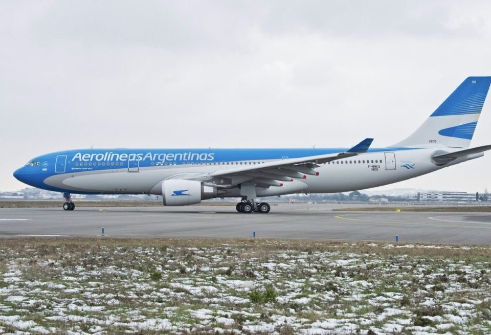Aerolineas Argentinas Flies Nonstop A330 Flight From Moscow With Vaccines