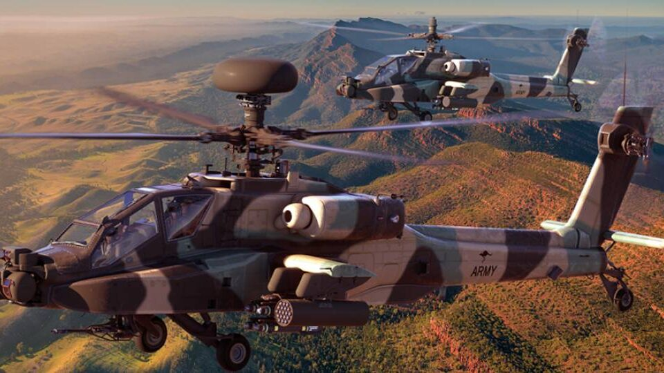 Australia Selects Apache Guardian for Recon Requirement