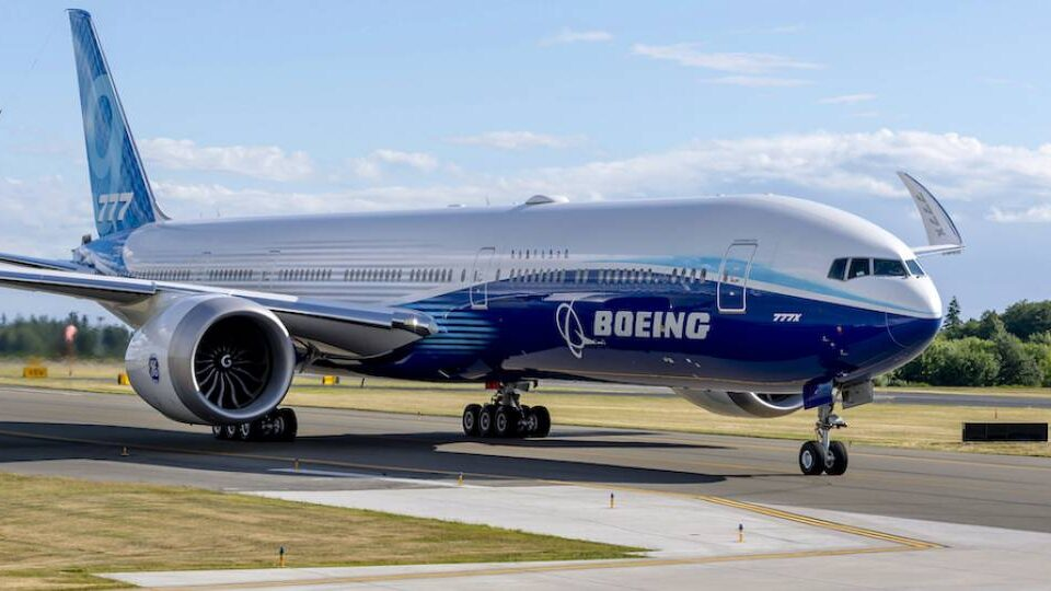 Boeing Moves 777X EIS Target to Late 2023