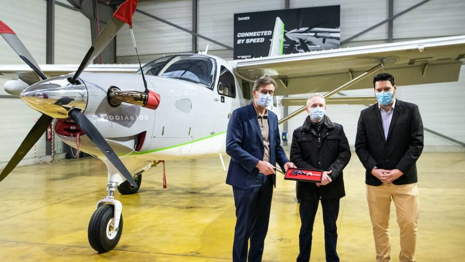 Daher Makes First Kodiak Delivery to French Customer