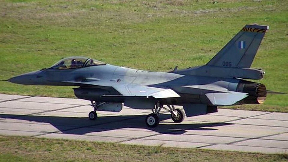 First Upgraded F-16V Fighter For Greece Takes Flight