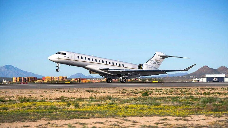 Bombardier Delivers 50th Global 7500