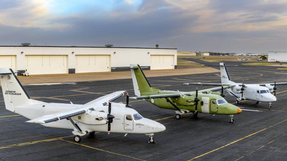 Cessna SkyCourier Begins Final Phase of Flight Testing