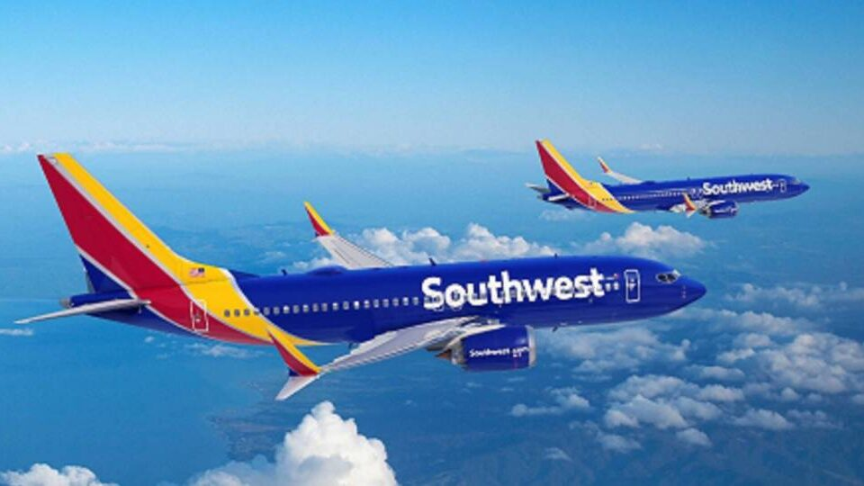 Southwest Airlines Orders 100 Boeing 737 Max 7s