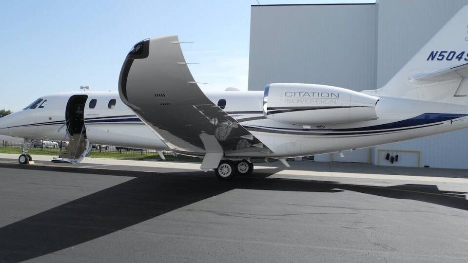Textron's King Air 90, Citation Sovereign End Their Rule