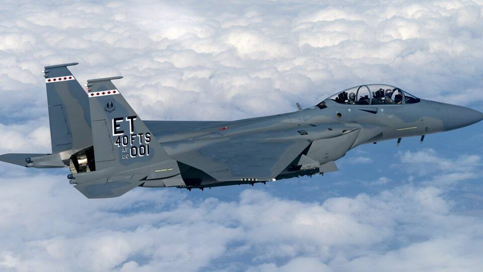 U.S. Air Force Receives First F-15EX Eagle Fighter