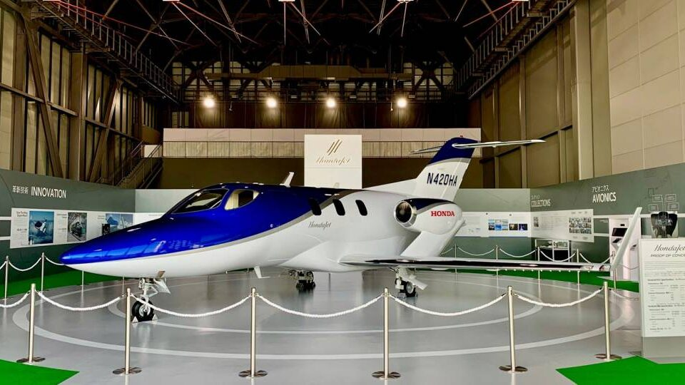 HondaJet Prototype Debuts in Japan Aviation Museum