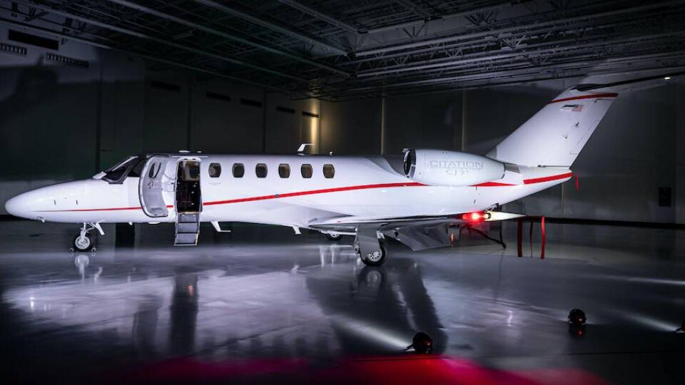 Textron Aviation Delivers 600th CJ3-series Jet