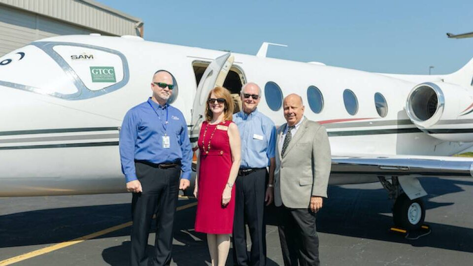 Sky Aviation Holdings Donates Two Jets to N.C. College