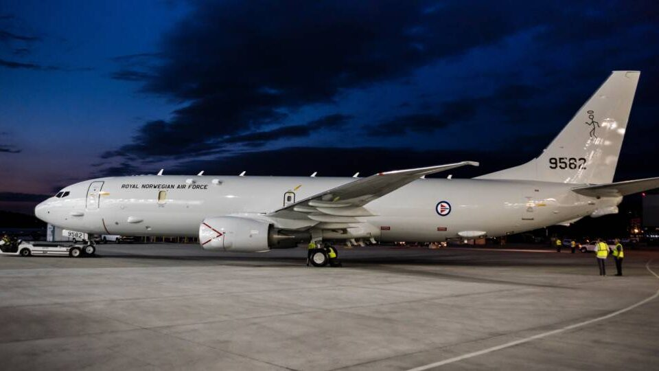 Boeing Rolls Out Norway's First Poseidon