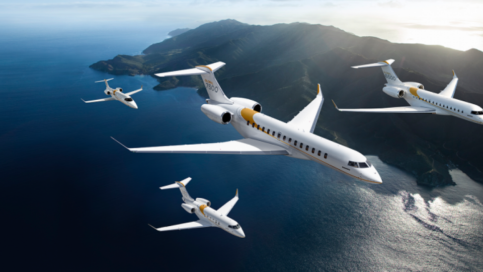 Bombardier Snags 10-aircraft, $452M Deal