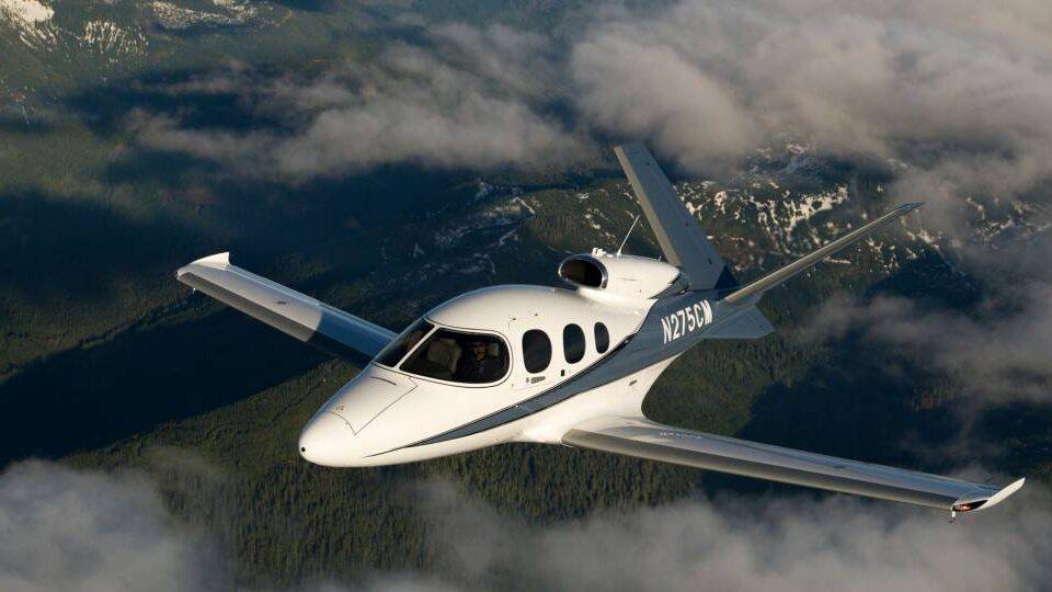 Cirrus Aircraft's Vision Jet Gets Another Upgrade