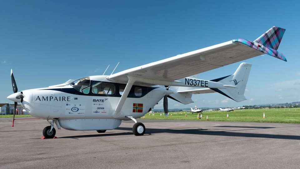 Ampaire Begins Hybrid-electric Aircraft Trials in UK
