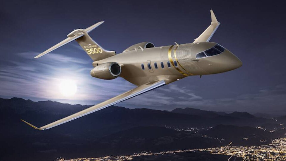 Bombardier Builds on Challenger Family with 3500
