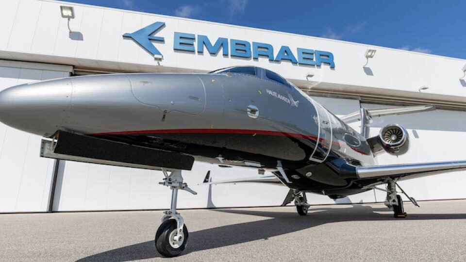 Embraer Delivers Its 1,500th Business Jet